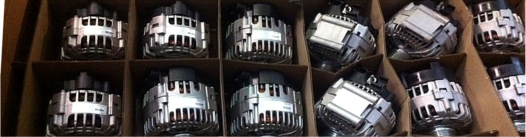 Starter and Alternators,  - supplied wholesale and by mail order throughout Ireland by AllStart, Cork